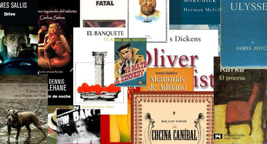 Menú literario en el 24 de la Paloma